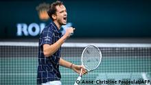 ATP Masters 1000 - Paris Masters - Daniil Medvedev Jubel