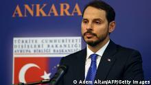 Türkei Finanzminister Berat Albayrak Rütritt