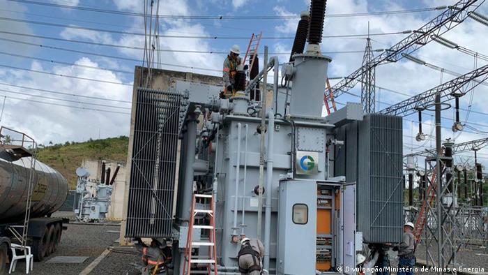 Incêndio na principal subestação de energia do estado atingiu transformadores, e não havia peças de reposição