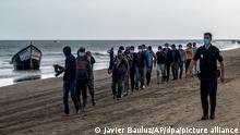 Spanien | Flucht über den Atlantik | Migranten auf Gran Canaria