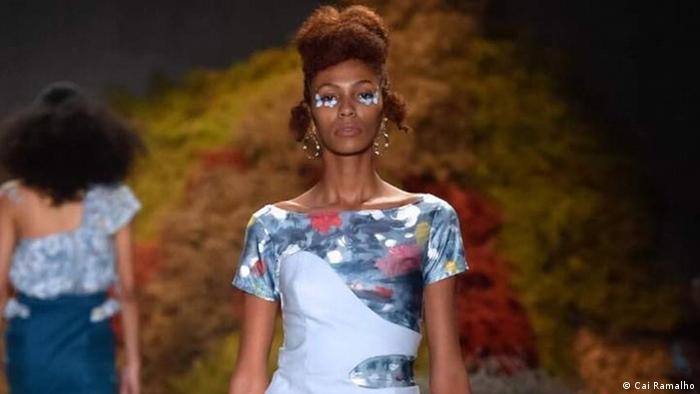 A modelo Lidyane Carvalho