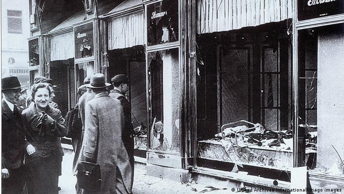 Після єврейських погромів у Берліні, листопад 1938 року