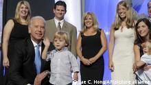 Joe Biden mit Enkelkinder Archiv