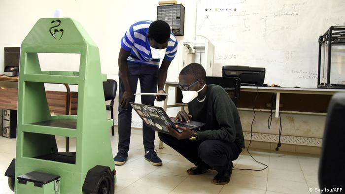 Senegal Dakar Ecole Superieur de Polytechnique (ESP) (Seyllou/AFP)