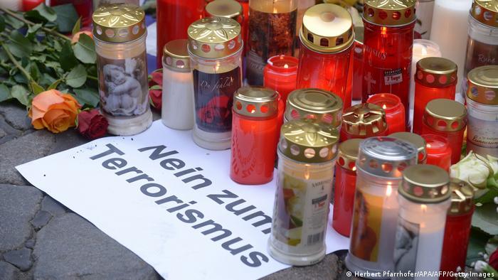 Un homenaje a las víctimas del reciente ataque en Viena