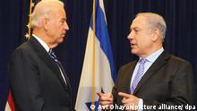Joe Biden und Benjamin Netanjahu