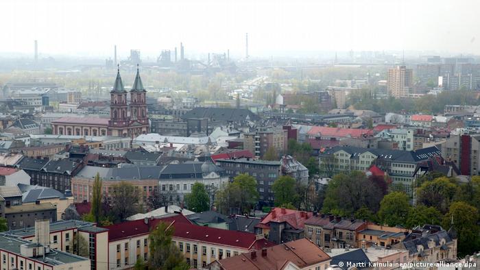 Czech town of Ostrava