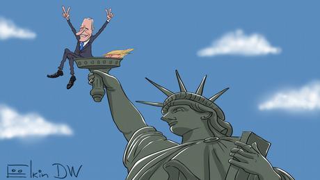 Результати виборів президента США - погляд карикатуриста Сергія Йолкіна