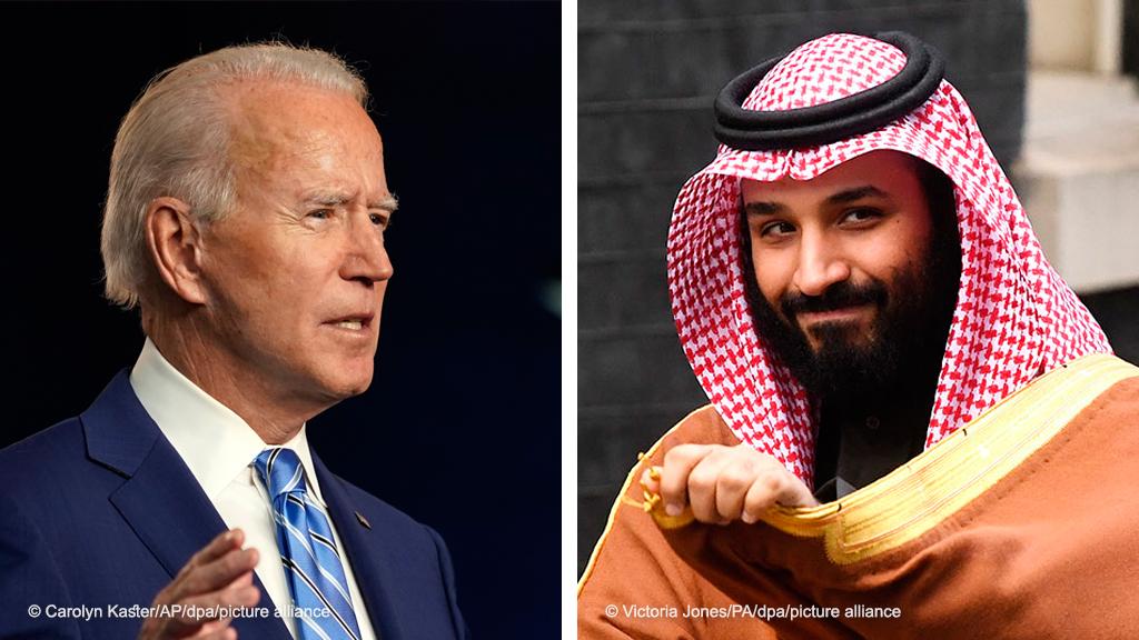 بعد تقرير المخابرات عن بن سلمان ماذا يحضر بايدن للسعودية أخبار Dw عربية أخبار عاجلة ووجهات نظر من جميع أنحاء العالم Dw 27 02 2021