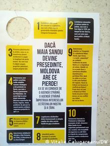 Propagandă mincinoasă pentru denigrarea candidatei Maia Sandu
