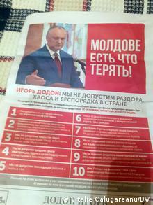 Republik Moldau | Pressestimmen zu zwei Präsidentschaftskandidaten