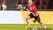 PSV Eindhoven - Fußballprofi Philipp Max in Aktion