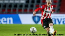 PSV Eindhoven - Fußballprofi Philipp Max in Aktion (Broer vd Boom/Orange Pictures/picture alliance)