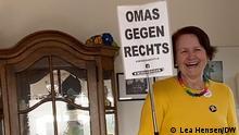 Omas gegen rechts - Anne Ohnweiler, Vereinsgründerin und 1. Vorsitzende