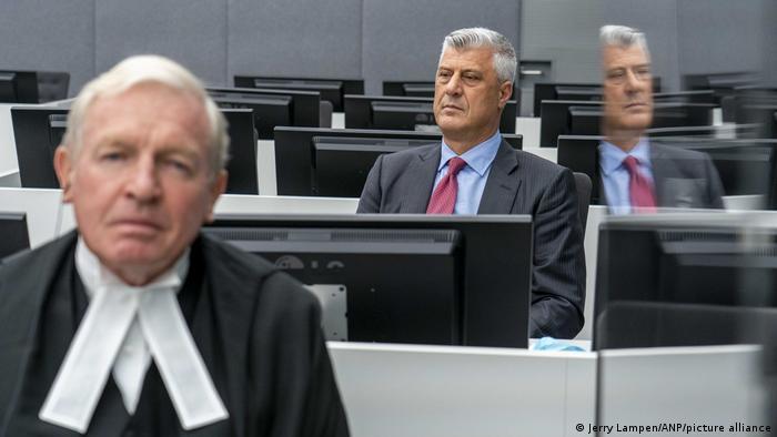 Den Haag   Hashim Thaci vor Kosovo Tribunal