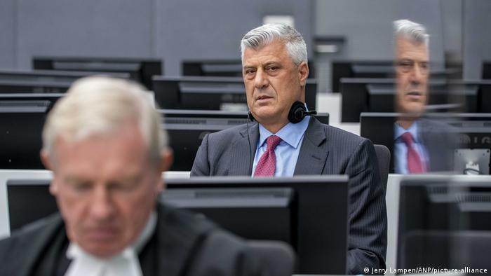 Niederlande Justiz l Kosovos Ex-Präsident Hashim Thaci in den Haag vor Gericht