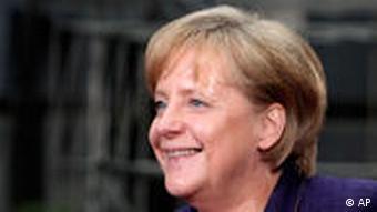 German Chancellor Angela Merkel arrives at the summit