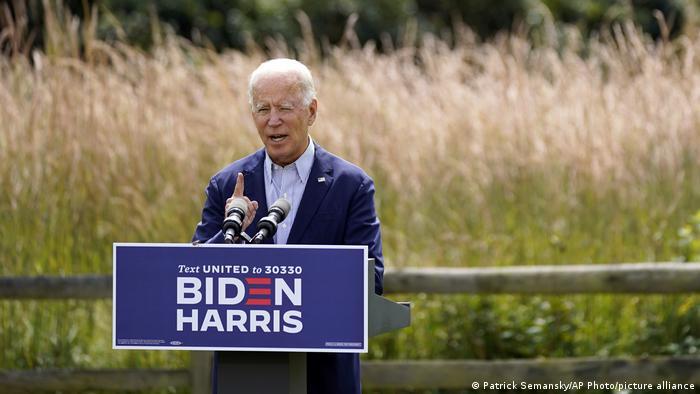 Joe Biden dari Partai Demokrat AS (Patrick Semansky/AP Photo/picture alliance)