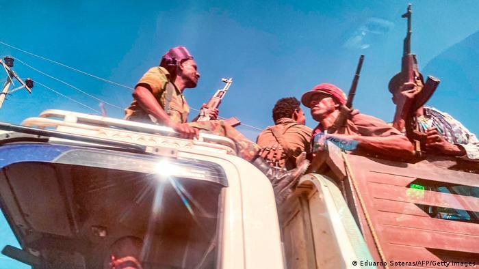 Amhara milita fighters