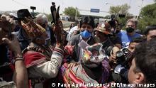 Bolivien |ehemaliger Präsident Evo Morales