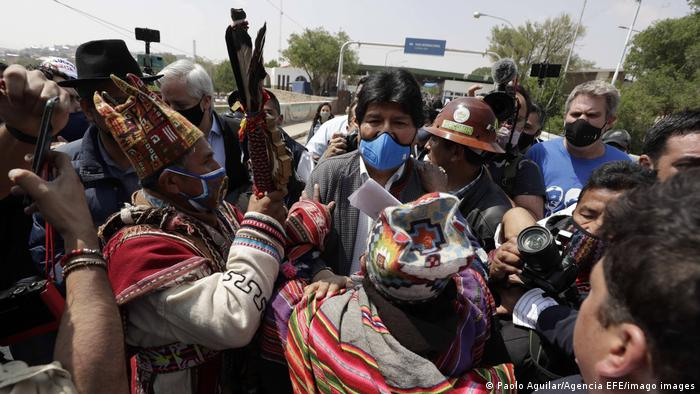 Bolivien  ehemaliger Präsident Evo Morales