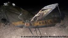 Armenien | Abschuss russischer Kampfhubschrauber Mi-24
