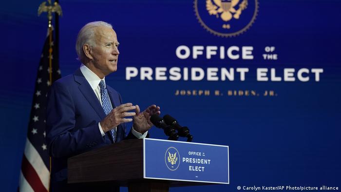 USA Wilmington | Rede Joe Biden und Kamala Harris
