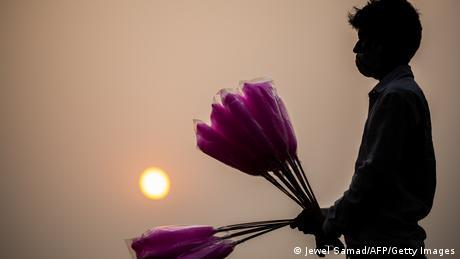BdTD Indien Smog Zuckerwatte (Jewel Samad/AFP/Getty Images)