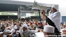 Indonesien Rückkehr Rizieq Shihab Islamic Defenders Front