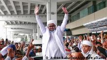 Indonesien Rückkehr Rizieq Shihab Islamic Defenders Front
