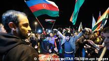 Reaktionen auf die neu vereinbarte Waffenruhe in Berg-Karabach