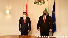 Bulgarien Nordmazedonien Boyko Borissov Zoran Zaev