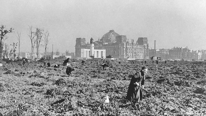 Берлин осенью 1945 года