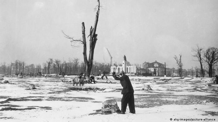 Берлин, зима 1945/1946 годов