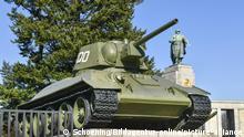 Deutschland Geschichte l Sowjetisches Ehrenmal in Berlin, Panzer