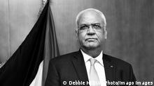 Westbank Ramallah | Palästinenser-Unterhändler Saeb Erekat, 2018