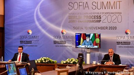 Bulgarien, Sofia   EU-Westbalkan Gipfel, 10.11.2020