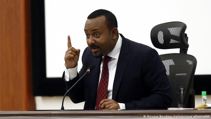 Äthiopien Premierminister Abiy Ahmed (Minasse Wondimu Hailu/picture alliance/AA)