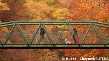 Großbritannien UK Herbst