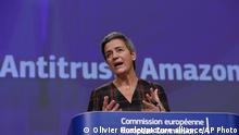 Belgien EU Amazon Margrethe Vestager