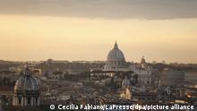 Italien Rom Smog Luftverschmutzung