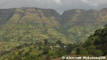 Landschaft Zentral Gonder Amhara region. Äthiopien Copyright: Alemnew Mekonnen (DW Bahir Dar)