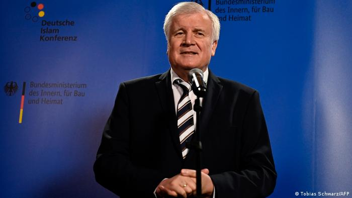 Germany's Interior Minister Seehofer