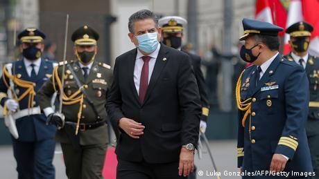 Manuel Merino, presidente do Peru por cinco dias