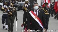 Peru Wahlergebnis l Manuel Merino - neue Präsidentschaft