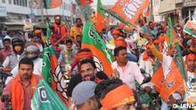 Indien | BJP Anhänger