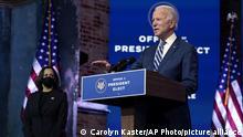 USA | Joe Biden designierter Präsident | Rede in Wilmington