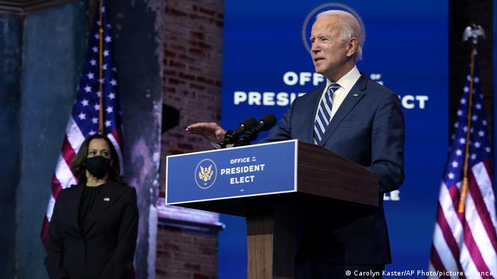 USA | Joe Biden designierter Präsident |Rede in Wilmington