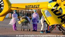 Frankreich I Verlegung von Corona-Patienten nach Deutschland