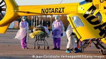 Γάλλος ασθενής μεταφέρεται τον Μάρτιο εκτάκτως από το Μετς Τιονβίλ σε γερμανικό νοσοκομείο